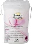 Douce Nature Диски ватные косметические овальные 100% БИО-хлопок, 40 шт.